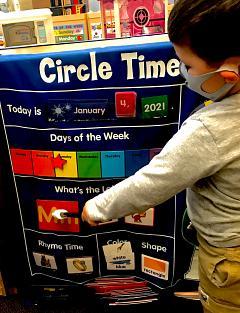 Circle Time at OLMC-CCC